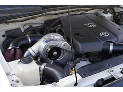 Procharger High Output Intercooled Supercharger Kit with D-1SC; Satin Finish (05-15 4.0L Tacoma)