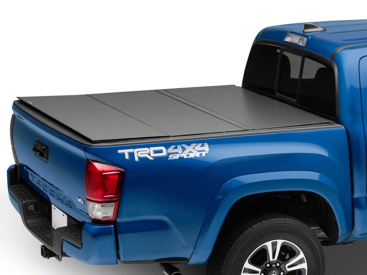 Lomax Tacoma Hard Tri Fold Tonneau Cover Tt1356 16 20 Tacoma