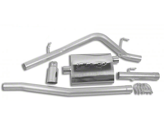 CGS Motorsports Aluminized Single Exhaust System - Side Exit (05-13 4.0L Tacoma)