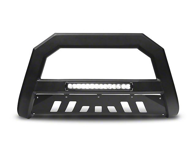 Armordillo Bumper Push Bar; AR Series; With LED; Matte Black (05-15 Tacoma)