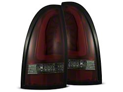 PRO-Series LED Tail Lights; Red Housing; Smoked Lens (05-15 Tacoma)
