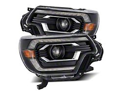 PRO-Series Projector Headlights; Black Housing; Clear Lens (12-15 Tacoma)