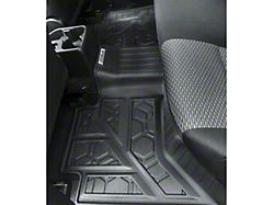 Air Design Soft Touch Front and Rear Floor Liners; Black (16-21 Tacoma Double Cab)