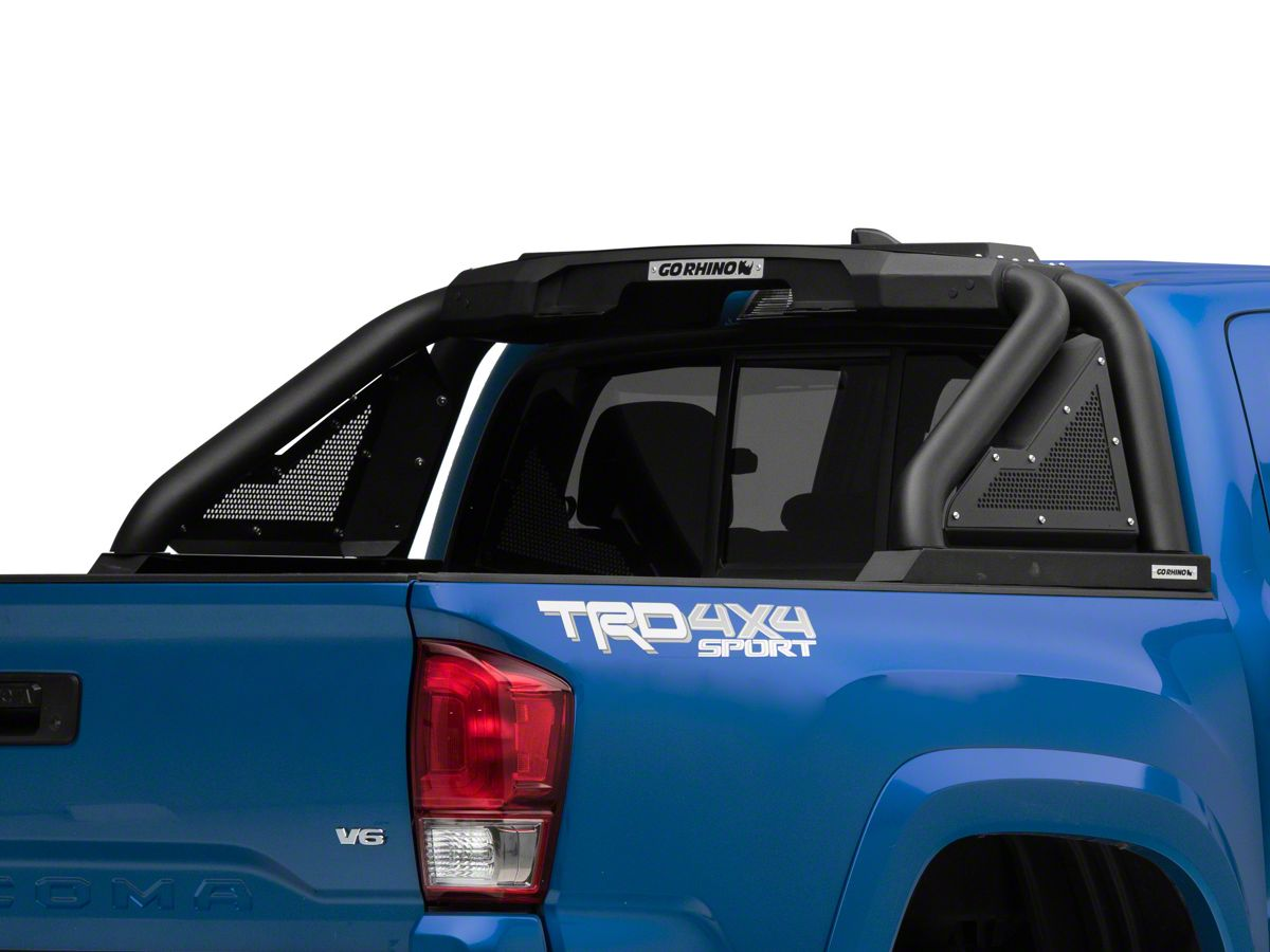 Bars In Tacoma >> Go Rhino Sport Bar 2 0 Roll Bar Textured Black 16 20 Tacoma