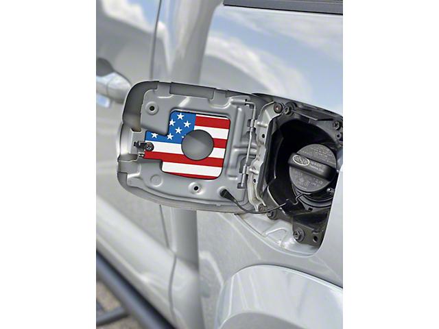 Gas Cap Holder; American Flag (16-21 Tacoma)