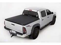 Tonneau Cover; Genesis Elite Tri-Fold; Black (05-15 Tacoma with 6-Foot Bed)