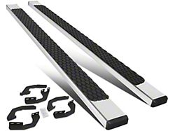 Flat Running Boards; Stainless Steel (05-21 Tacoma Double Cab)