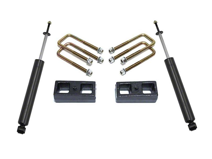Max Trac 2 Inch Rear Lift Kit w/ Max Trac Shocks (05-20 2WD 6-Lug Tacoma)