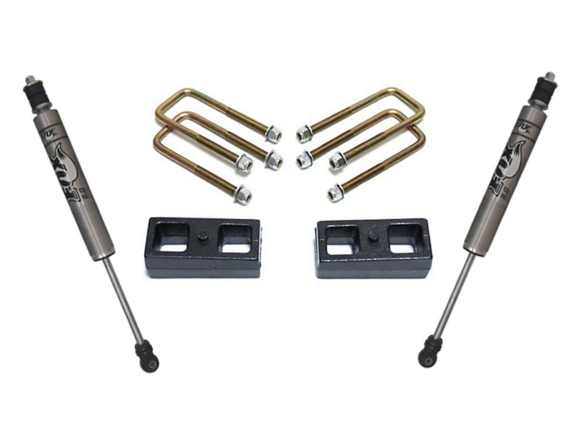 Max Trac 2 in. Rear Lift Kit w/ Fox Shocks (05-20 2WD 6-Lug Tacoma)