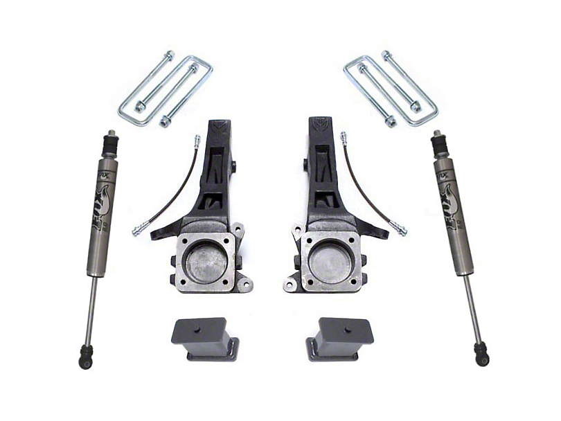 Max Trac 4 in. Suspension Lift Kit w/ Fox Shocks (05-20 2WD 6-Lug Tacoma)