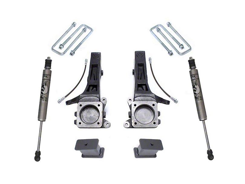 Max Trac 4 in. Suspension Lift Kit w/ Fox Shocks (05-19 2WD 6-Lug Tacoma)
