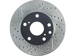 StopTech Sport Drilled and Slotted 5-Lug Rotor; Front Passenger Side (05-15 Tacoma)