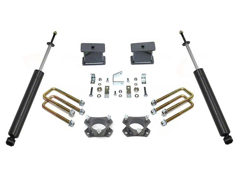 Max Trac 4 in. Rear Lift Kit w/ Max Trac Shocks (05-20 2WD 6-Lug Tacoma)