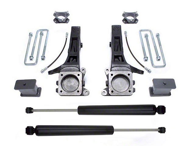 Max Trac 6.5 in. Suspension Lift Kit w/ Max Trac Shocks (05-19 2WD 6-Lug Tacoma)