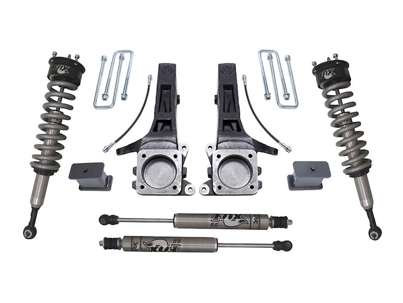 Max Trac 6.5 in. Suspension Lift Kit w/ Fox Shocks (05-19 2WD 6-Lug Tacoma)