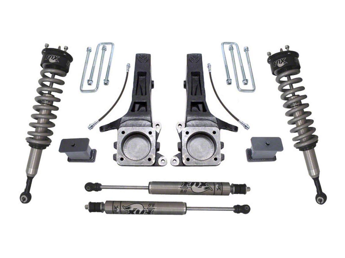 Max Trac 6 5 in  Suspension Lift Kit w/ Fox Shocks (05-19 2WD 6-Lug Tacoma)