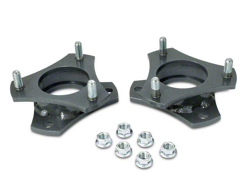 Max Trac 2.5 in. Front Strut Spacers (05-20 2WD 6-Lug Tacoma)
