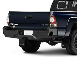 Elevation Rear Bumper; Fine Textured Black (05-15 Tacoma)