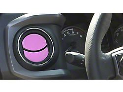 Air Vent Accent Trim; Lavender Purple (16-21 Tacoma)