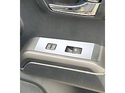 Door Switch Panel Accent Trim; Gloss White (16-21 Tacoma Access Cab)