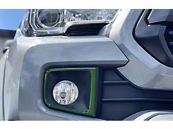 Fog Light Accent Trim; Army Green (16-21 Tacoma TRD Off-Road, TRD Sport)