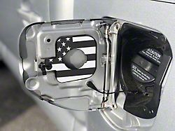 Gas Cap Holder; Blue/White American Flag (05-15 Tacoma w/ 5-Foot Bed)