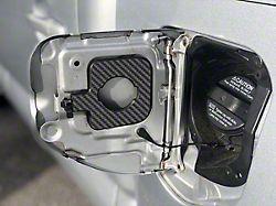 Gas Cap Holder; Raw Carbon Fiber (05-15 Tacoma w/ 5-Foot Bed)