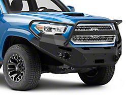 Fab Fours Premium Winch Front Bumper with Full Guard; Matte Black (16-21 Tacoma)