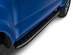 Thrasher Running Boards; Textured Black (05-21 Tacoma Double Cab)