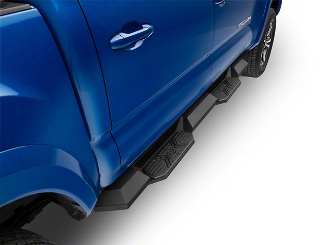 HDX Xtreme Nerf Side Step Bars; Textured Black (05-20 Tacoma Double Cab)