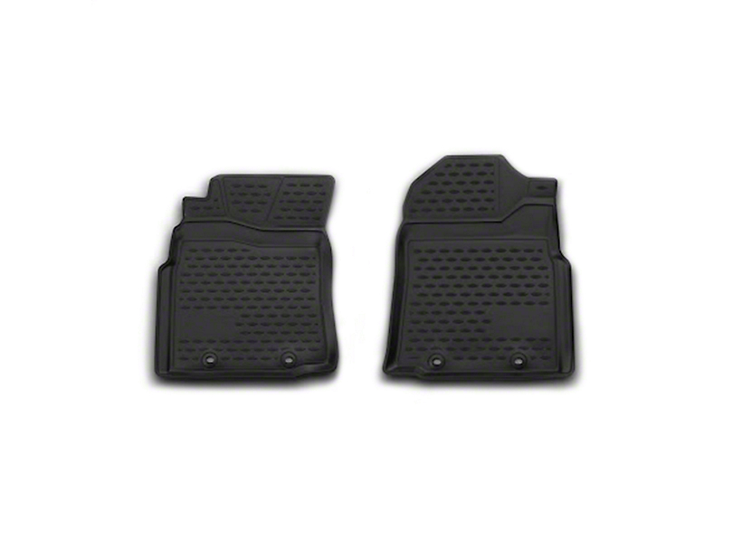 Westin Profile Front Floor Mats - Black (12-14 Tacoma Regular Cab)