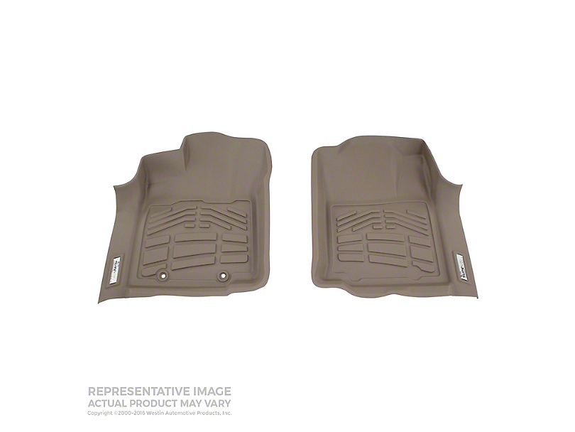 Wade Sure-Fit Front Floor Mats - Tan (05-11 Tacoma)