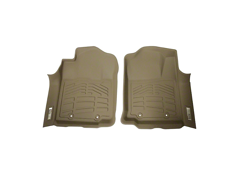 Wade Sure-Fit Front Floor Mats - Tan (12-15 Tacoma)