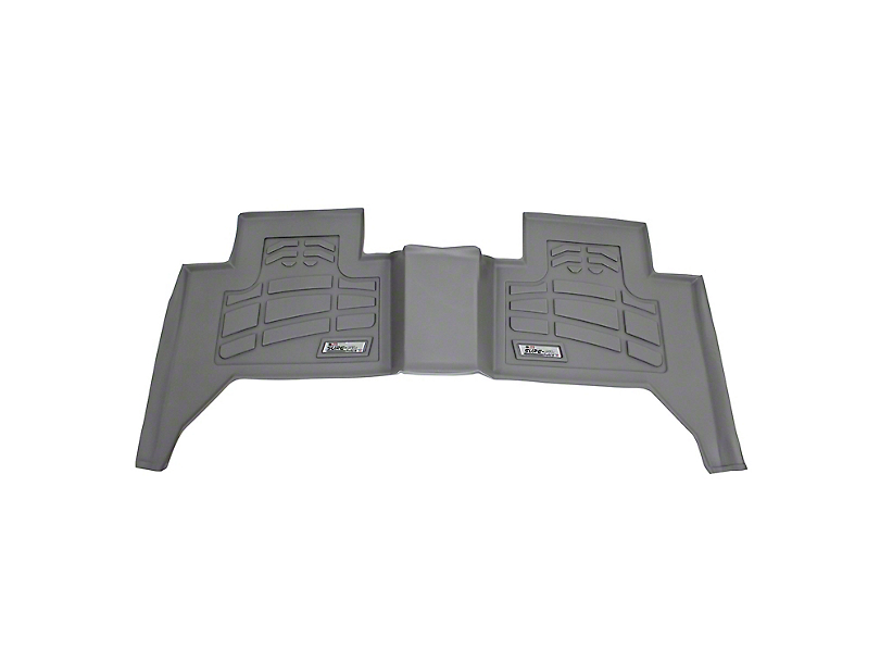 Wade Sure-Fit 2nd Row Floor Mat - Gray (05-20 Tacoma Double Cab)