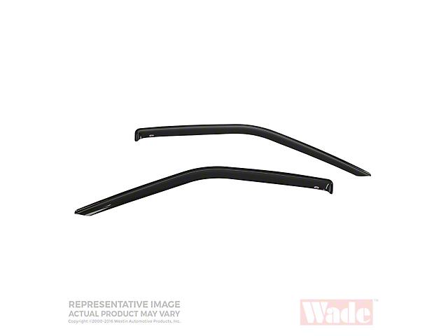 Wade Slim Wind Deflectors - Smoked (05-14 Tacoma Regular Cab)