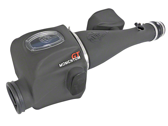 AFE Momentum GT Cold Air Intake with Pro 5R Oiled Filter; Black (16-21 3.5L Tacoma)