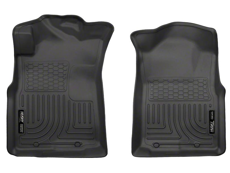 Husky WeatherBeater Front Floor Liners - Black (05-15 Tacoma)