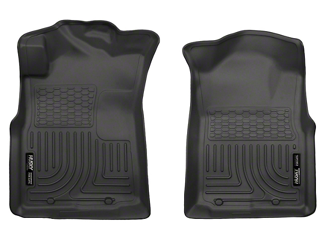 WeatherBeater Front Floor Liners; Black (05-15 Tacoma)