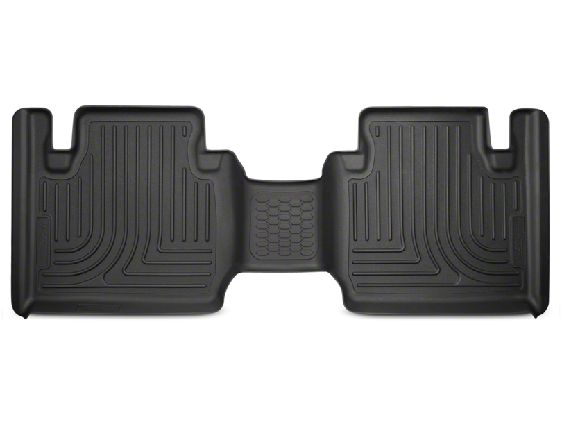Husky WeatherBeater Second Seat Floor Liner; Black (12-20 Tacoma Access Cab)