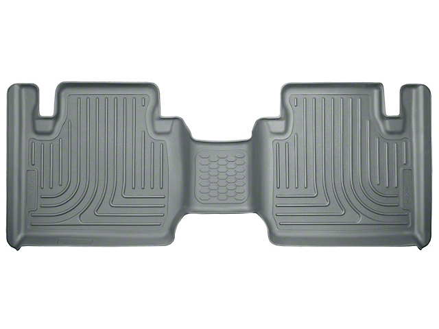 WeatherBeater 2nd Seat Floor Liner - Gray (12-20 Tacoma Access Cab)