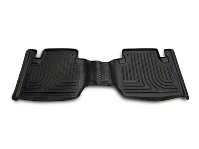 Husky Liners 2nd Seat Floor Liner Fits 05-19 Tacoma Double Cab Pickup