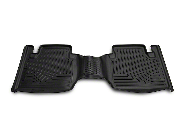 Husky X-Act Contour 2nd Seat Floor Liner - Black (05-19 Tacoma Access Cab w/ Automatic Transmission)