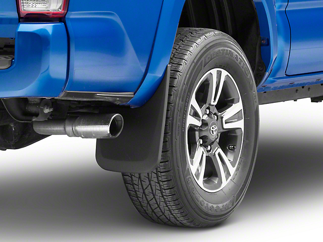 Husky Custom Molded Front & Rear Mud Guards (16-19 Tacoma w/ OE Fender Flares)