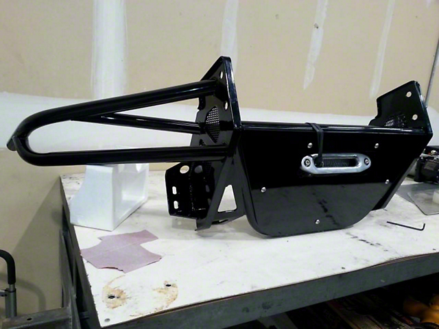 N-Fab R.S.P. Pre-Runner Front Bumper; Textured Black (05-15 Tacoma)