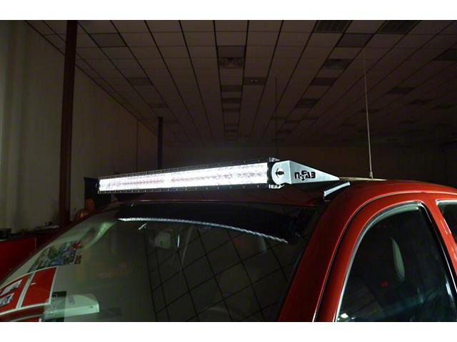 N-Fab 40 Series LED Light Bar Roof Top Light Bar Mount - Gloss Black (05-15 Tacoma)
