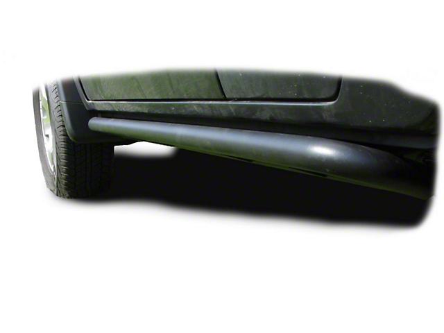 N-Fab Cab Length RKR Side Rails - Textured Black (05-15 Tacoma Access Cab)