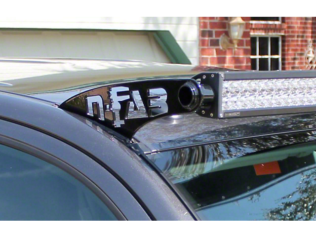 N-Fab 50 Series LED Light Bar Roof Top Light Bar Mount - Gloss Black (05-15 Tacoma)