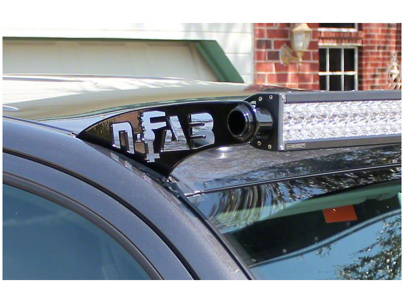 N-Fab 50 Series LED Light Bar Roof Top Light Bar Mount - Textured Black (05-15 Tacoma)