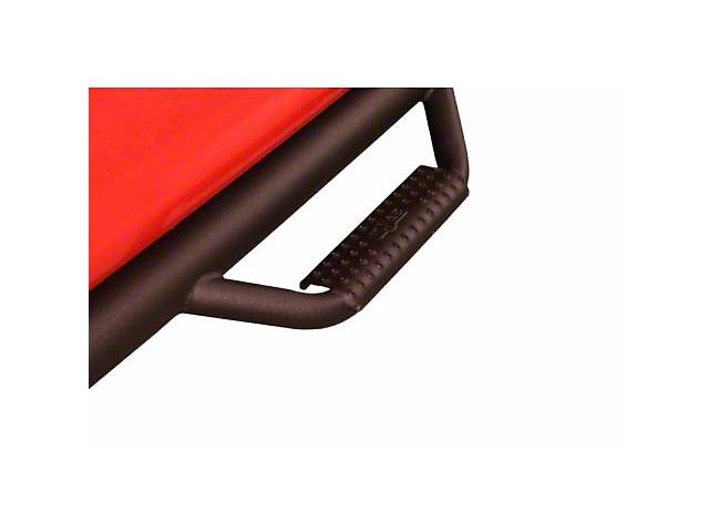 N-Fab Wheel 2 Wheel Nerf Side Step Bars; Textured Black (16-20 Tacoma Access Cab)