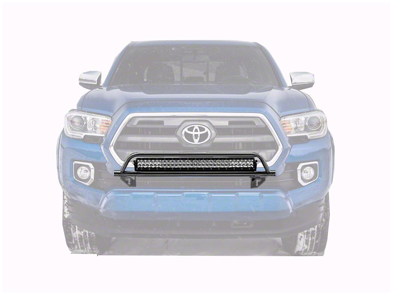 N-Fab O.R. Series Front Light Mount Bar with Multi-Mount; Gloss Black (16-20 Tacoma)